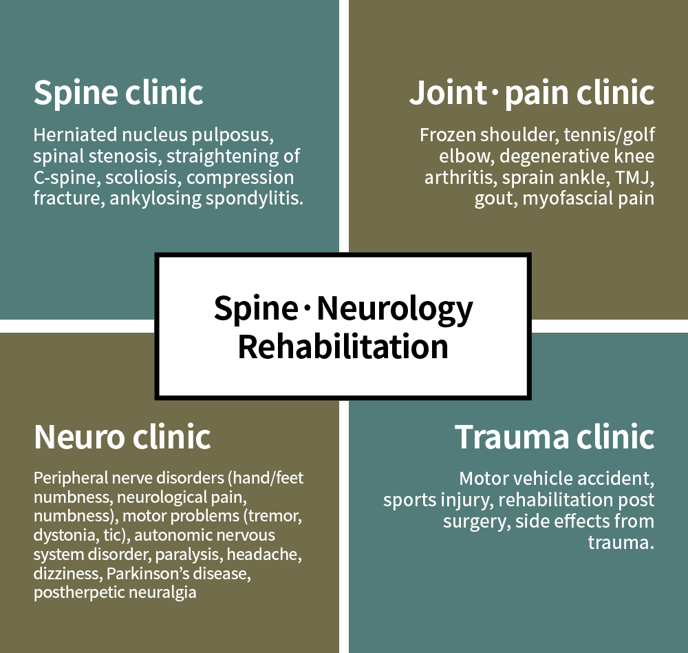 Spine & Nerve Rehabilitation Treatment clinics